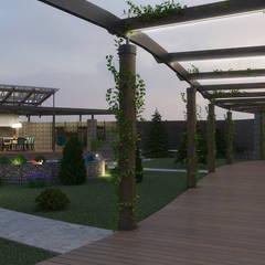 Проект ландшафтного дизайна на Павло-Очаковской косе: Сады в . Автор – studio forma