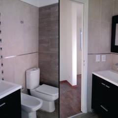 Baño : Baños de estilo moderno por MONARQ ESTUDIO