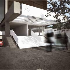 RETROFIT HADDOCK LOBO: Edifícios comerciais  por Coletivo de Arquitetos