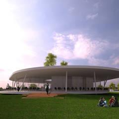 PARQUE DE JOGOS 01_ANGOLA_2012: Estádios  por PFS-arquitectura