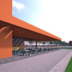 PARQUE DE JOGOS 02_ANGOLA_2012: Estádios  por PFS-arquitectura