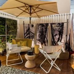 HOME OFFICE DEL FOTÓGRAFO - EXPODECO 2016: Jardines de estilo  por ARKILINEA