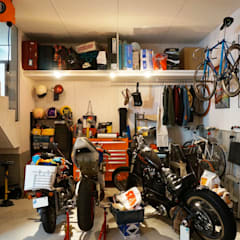 Garage/shed by Kawakatsu Design