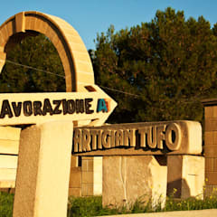 mediterranean Wine cellar by Artigiantufo