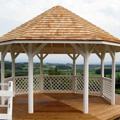 Helena Octagonal Garden Gazebo:  Garden by Garden Affairs Ltd