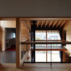 安島の新屋: 丸山晴之建築事務所が手掛けた子供部屋です。