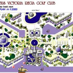 Проект туристического комплекса на о.Маврикий: Гостиницы в . Автор – Архитектурное бюро 'Ежов'