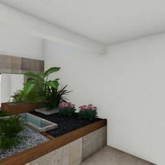 Projekty,  Siłownia zaprojektowane przez A-labastrum   arquitectos