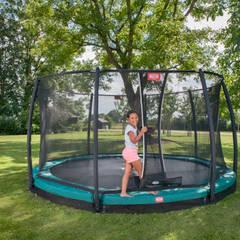BERG InGround Champion 270/330/380/430 + Safety Net Comfort Garten im Landhausstil von BERG Toys B.V. Landhaus Plastik