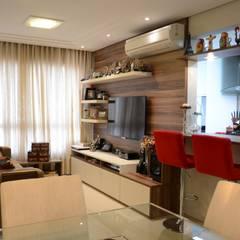 Projeto Residencial: Salas de estar modernas por Expace - espaços e experiências