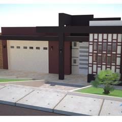 Fachadas Okarq - Iquitos: Casas de estilo  por Okarq