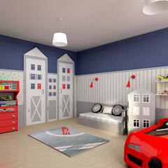 Man & Woman: Детские комнаты в . Автор – ЙОХ architects