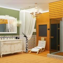 Man & Woman: Ванные комнаты в . Автор – ЙОХ architects