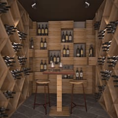Wine cellar by Silvana Barbato, StudioAtelier