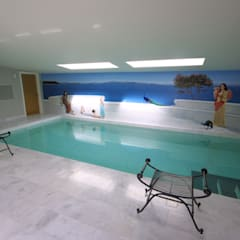Renovation of Listed Building, Cornwall:  Pool by Arco2 Architecture Ltd