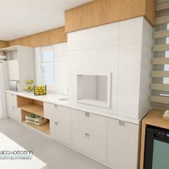 Cocinas de estilo  por Arquiteta Jéssica Hoegenn - Arquitetura de Interiores