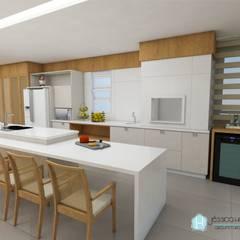 Kitchen by Arquiteta Jéssica Hoegenn - Arquitetura de Interiores