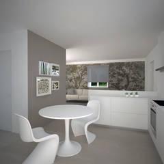 غرفة السفرة تنفيذ Silvana Barbato, StudioAtelier