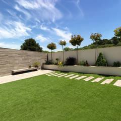 حیاط by arqubo arquitectos