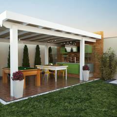 3D: Terraços  por canatelli arquitetura e design