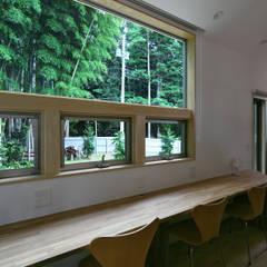 Oficinas de estilo  por かんばら設計室