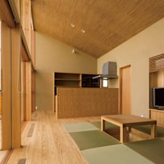 ห้องสันทนาการ by 中山大輔建築設計事務所/Nakayama Architects