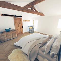 Aménagements pour chambres d'hôtes: Chambre de style de stile Rural par La Fable