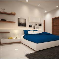 Kids Bedroom: modern Bedroom by Pixel Works