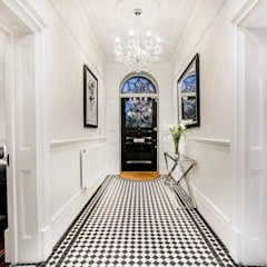The Cooke's:  Corridor & hallway by Vogue Kitchens, Modern