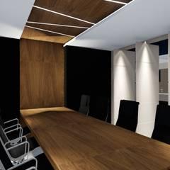 Sala de reuniões: Salas multimídia  por Studio²