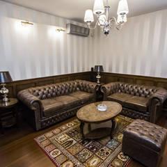 Stylizowany salonik: styl , w kategorii Salon zaprojektowany przez All Design- Aleksandra Lepka