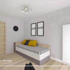 Pokój nastolatka: styl , w kategorii Pokój dziecięcy zaprojektowany przez All Design- Aleksandra Lepka
