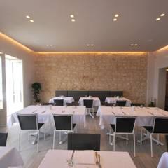 Retrò_pizza & seafood: Bar & Club in stile  di Viviana Pitrolo architetto