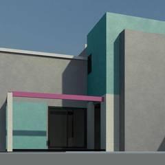 Casa CS 727: Jardines de estilo  por Patricio Galland Arquitectura , Ecléctico