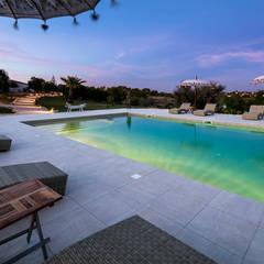 Casa Tuia Piscinas campestres por Hi-cam Portugal Campestre