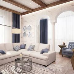 Salas / recibidores de estilo  por GraniStudio