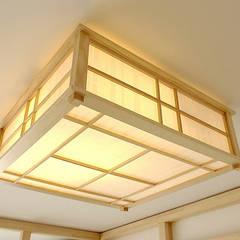Lampadario Shoji: Camera da letto in stile in stile Asiatico di Arpel