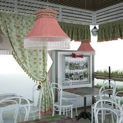 Кафе в стиле прованс на территории торгового центра: Коммерческие помещения в . Автор – Арт-Идея