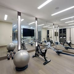 Chelsea Townhouse:  Gym by nu:builds
