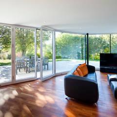 Haus F Moderne Wohnzimmer von WSM ARCHITEKTEN Modern