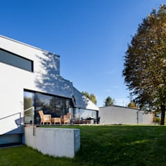 Haus F Moderner Garten von WSM ARCHITEKTEN Modern