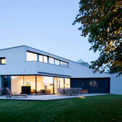 Haus F:  Garten von WSM ARCHITEKTEN