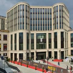 Haupteingang Gerber Quartier S:  Einkaufscenter von Jens Thasler.designer-architekt