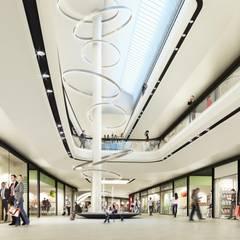 ShoppingMall im Gerber Quartier S:  Einkaufscenter von Jens Thasler.designer-architekt