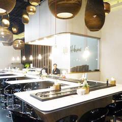 Projekty,  Gastronomia zaprojektowane przez Jens Thasler.designer-architekt
