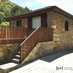 Rehabilitación de vivienda en Valdomir: Casas de estilo  de b+t arquitectos