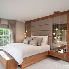 Contemporary Living:  Bedroom by Aubury Design