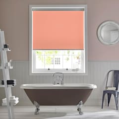 Palette Coral Roller Blind:  Bathroom by Appeal Home Shading