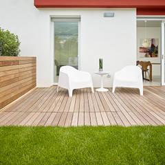 appartamento CW: Giardino in stile  di Burnazzi  Feltrin  Architects