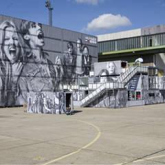 Hilfiger denim fashion fair booth:  Event venues by TWOTIMESTWENTYFEET